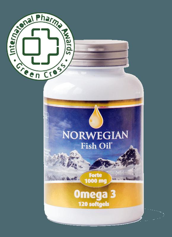 Норвежский Омега-3